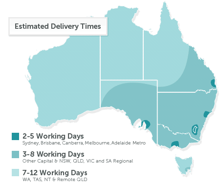 Premier wheels delivery map